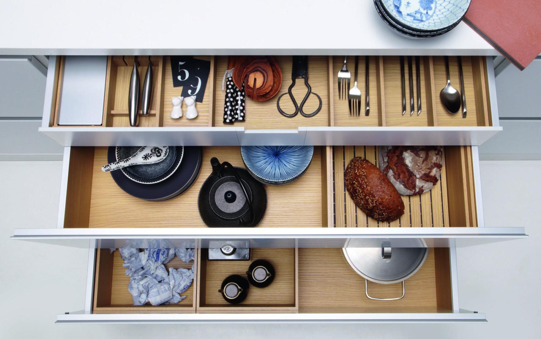 Schubkastensysteme Holz 1 scaled - Küchenzubehör